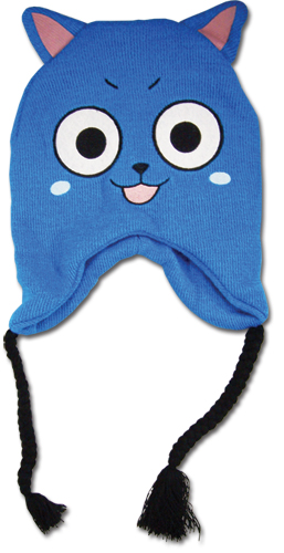 Yesanime Com Fairy Tail Happy Knitted Beanie