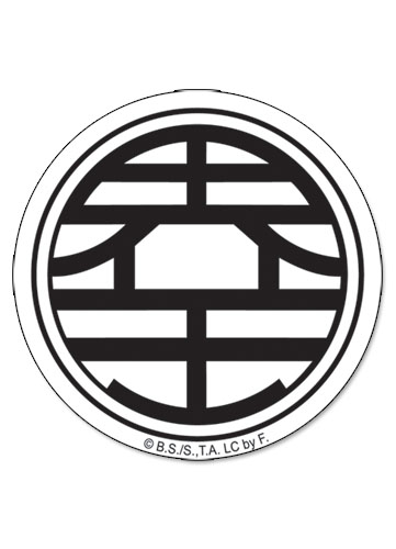 Yesanime Dragon Ball Z Kaio Symbol Sticker