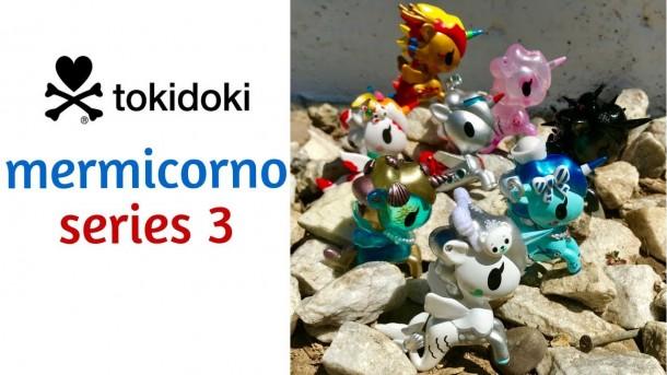 Tokidoki Mermicorno Series 3 Vinyl Figure Full Display Case of 16 Blind Boxes
