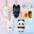 Sushi Pet Mascot 8cm Keychain Plush (set/4) (1)