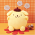 Pompompurin Pom Face 33cm Large Plush (1)